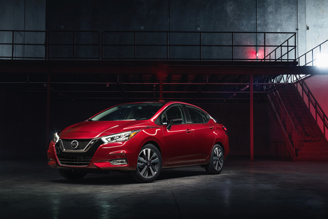2020 Nissan Versa costs $15,625 to start, up more than $2,000 from last year