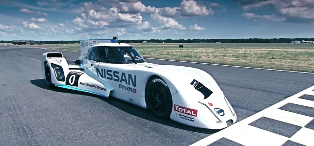 2014 Nissan ZEOD RC Le Mans prototype at Dunsfold Aerodrome