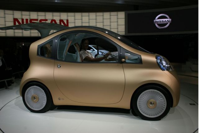 Nissan Nuvu: The Post-Feminist Electric Car