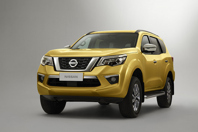 Nissan Terra for Asia