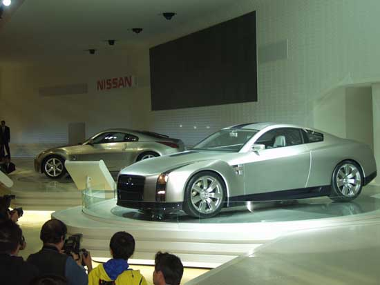 Nissan GT-R and Fairlady Z concept tokyo 2001