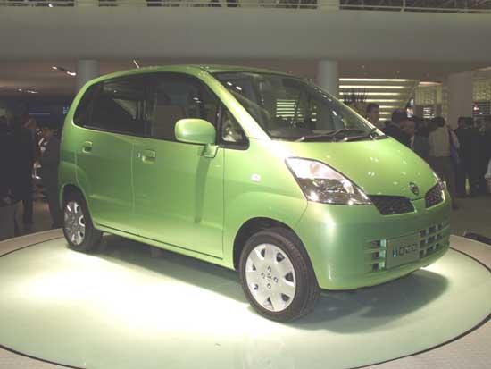 Nissan Moco concept 2001 Tokyo