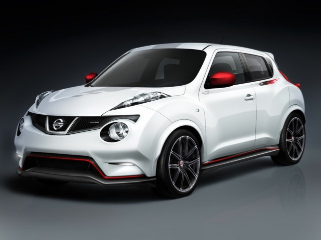 Nissan's Juke Nismo concept.