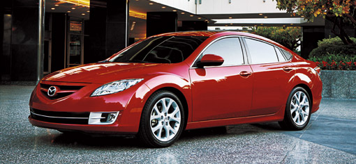 North American 2009 Mazda6 official details