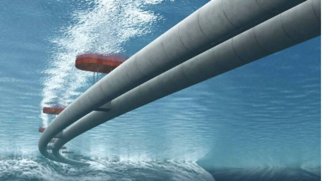 Norway is designing a floating underwater tunnel