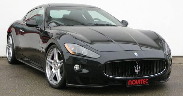 Maserati granturismo supercharger