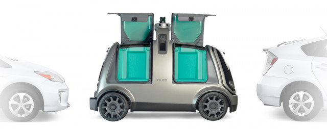 Nuro self-driving delivery vehicle