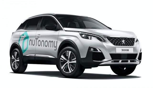 nuTonomy self-driving prototype based on the Peugeot 3008