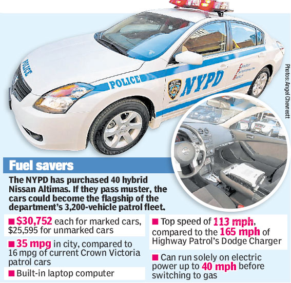 NYPD Altima Hybrid