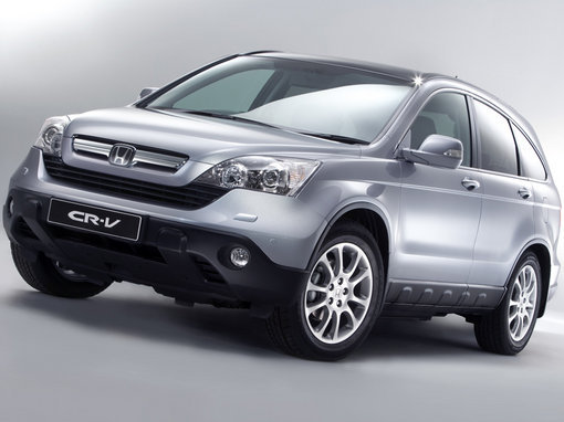 Official images of the 2007 Honda CR-V
