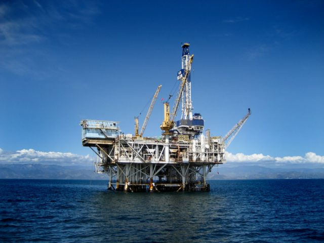 Offshore Oil Rig