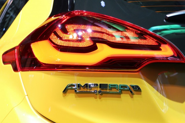 Opel Ampera-e at 2016 Paris Motor Show