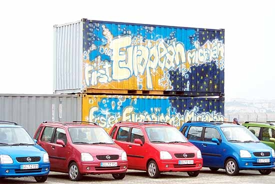 GM Polska is proving to be an efficient, lower-cost place to produce new vehicles such as the Opel Agila.