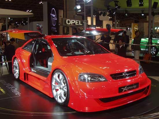 Opel Astra Xtreme concept Tokyo 2001