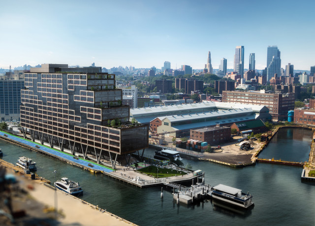 Self-driving cars to shuttle workers around Brooklyn Navy Yard
