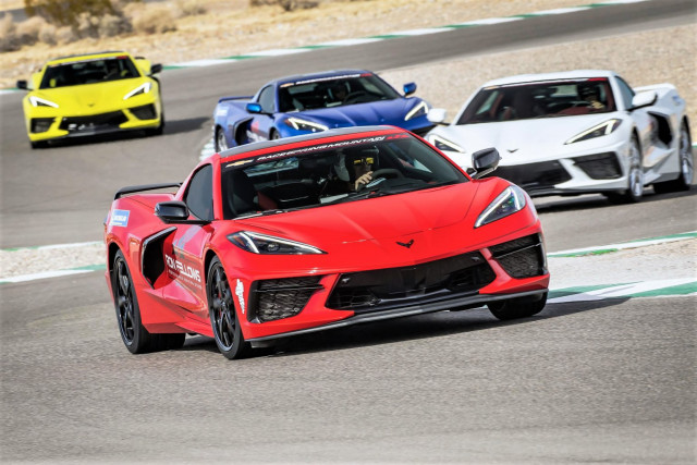 Owners drive Corvette C8s at the Ron Fellows school | Ron Fellows Performance Driving School photos