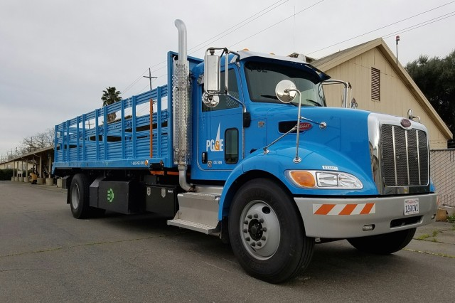 Pacific Gas Electric Plug In Hybrid Cl 6 Truck