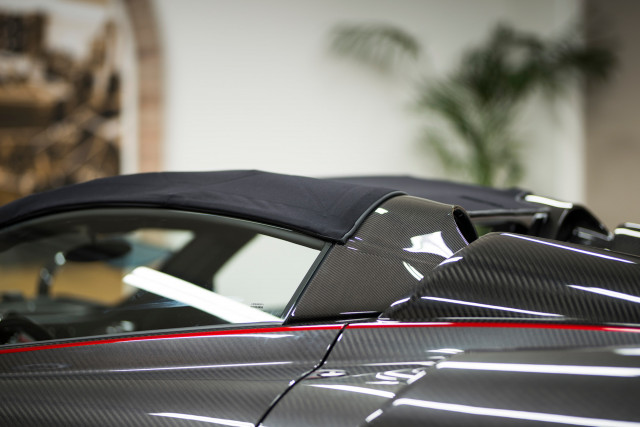 Pagani Huayra Roadster with soft top