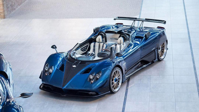 Pagani Zonda HP Barchetta built for Horacio Pagani