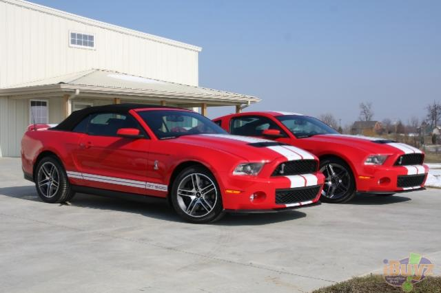 Pair of Shelby GT500's