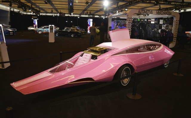 Panthermobile built for 'Pink Panther Show' restored by Galpin Restorations
