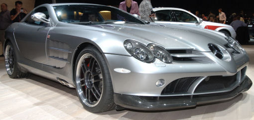 Paris Mercedes Benz Slr Mclaren 722 Edition