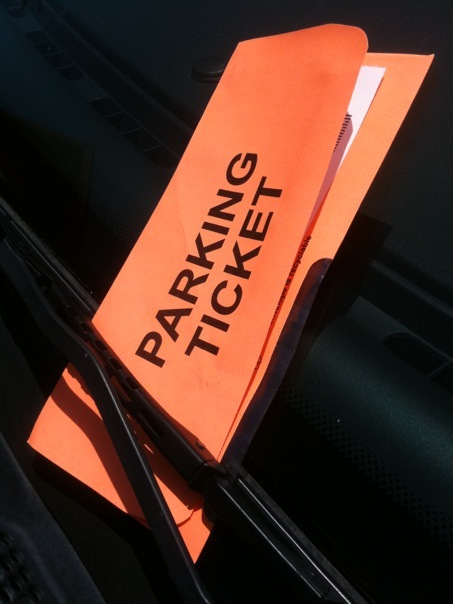 parking ticket - flickr user alicegop