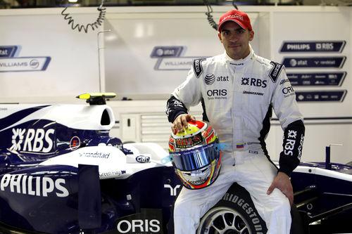 Pastor Maldonado Confirmed For 2011 Williams F1 Seat