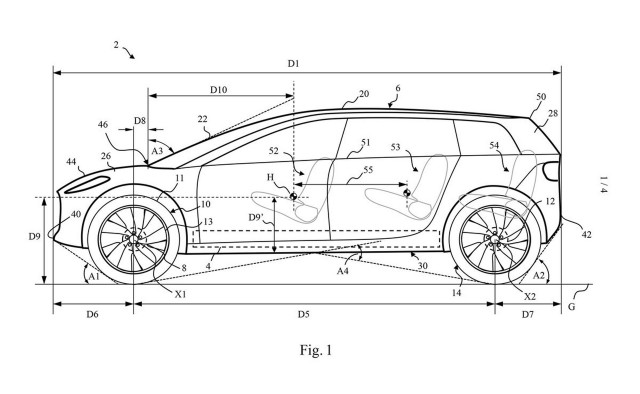 Dyson patents show possible Tesla Model X competitor