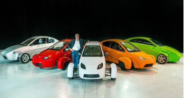 Paul Elio With 5 Successive Prototype Elios