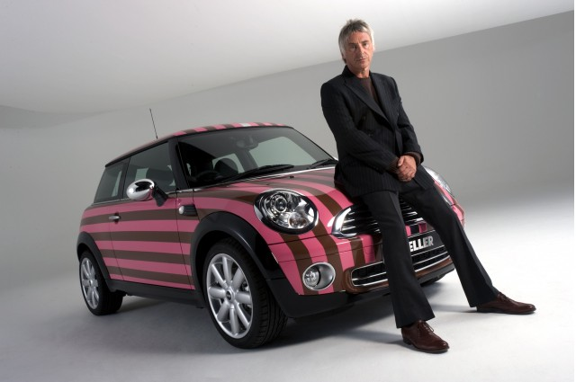 Paul Weller designed custom MINI Cooper