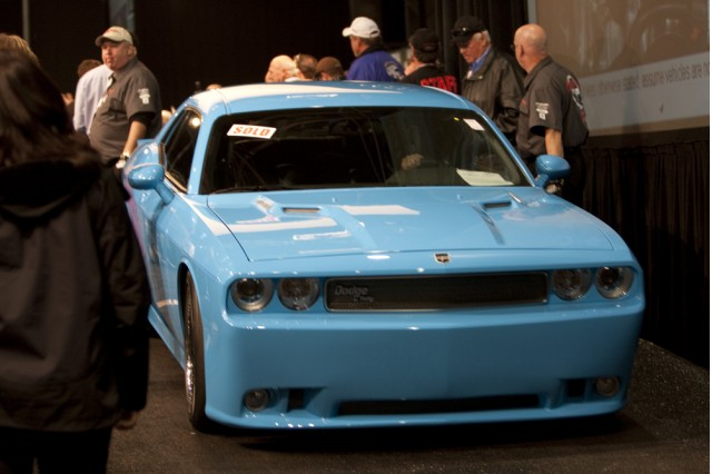 First Petty S Garage Dodge Challenger Srt8 Brings 130k At