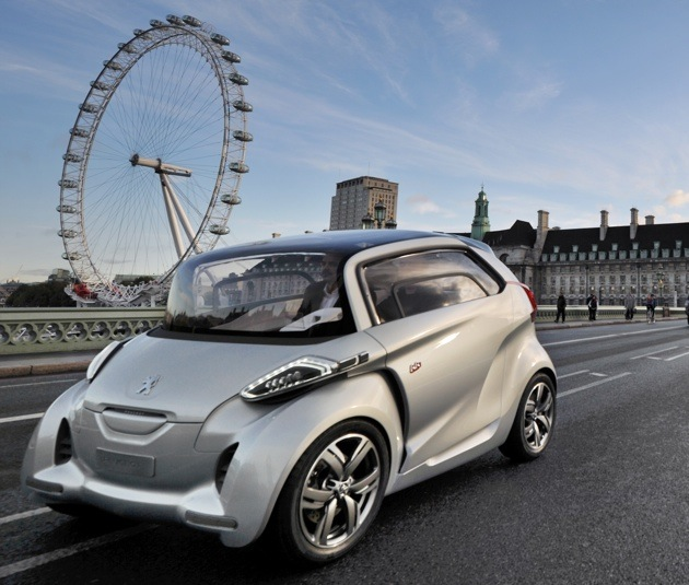 Peugeot Unveils Bb1 Ev On The Streets Of London
