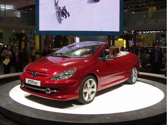 Peugeot 307cc concept