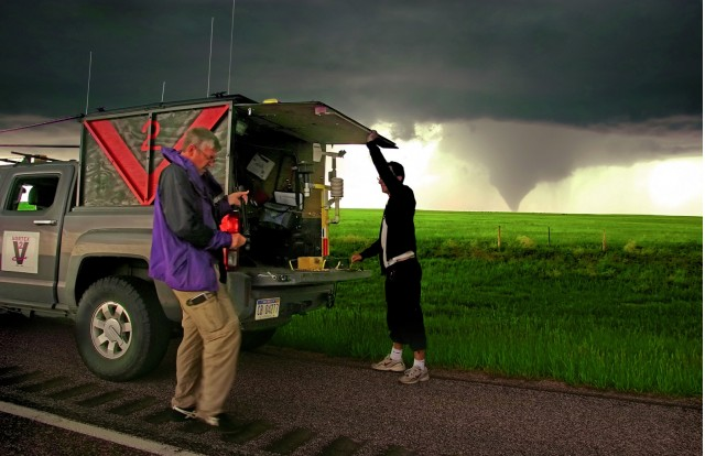 Phil Berg, tornado chaser