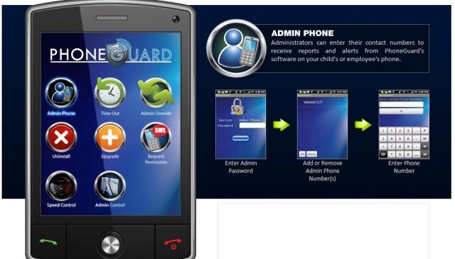 PhoneGuard app