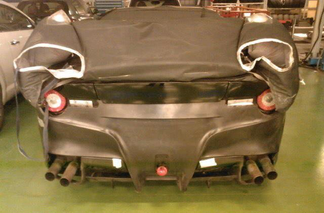 Photo alleged to depict upcoming Ferrari F620 (599 replacement)