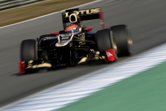 Photo courtesy Lotus F1 Team