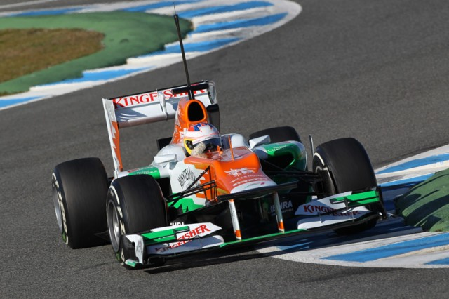 Photo courtesy Sahara Force India Formula 1