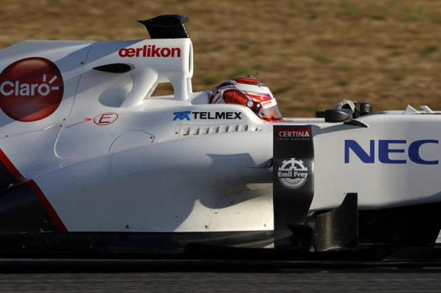Photo courtesy Sauber F1 Team