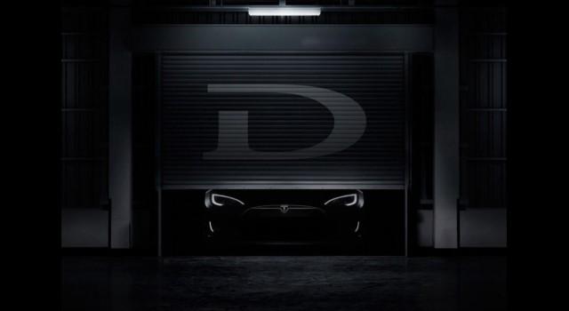 Photo from Tesla 'D' tweet by Tesla Motors CEO Elon Musk, October 1, 2014