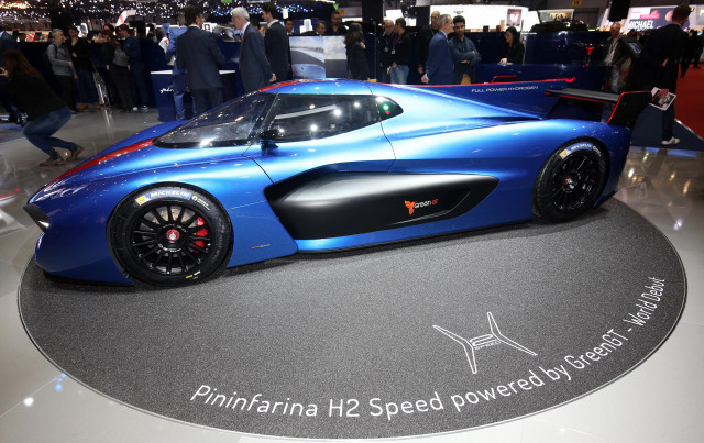 Pininfarina H2 Speed Concept: Pininfarina H2 Speed Supercar Confirmed For Production