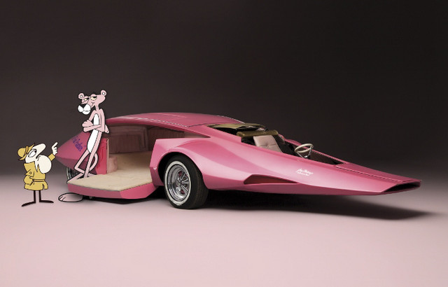 Panthermobile built for 'Pink Panther Show'