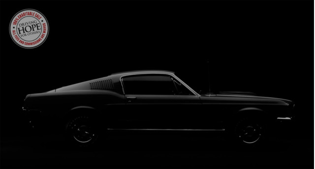"Placeholder image for ""special new Ford Mustang"" to be at Barrett-Jackson Scottsdale auction"