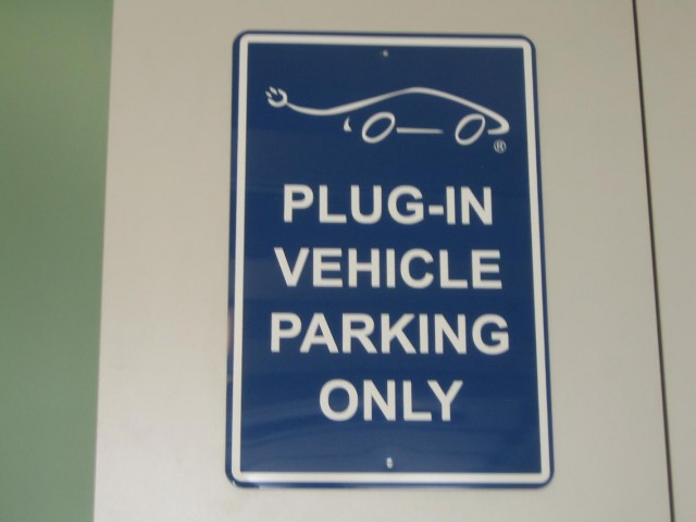 Plug-In Vehicle Parking Only