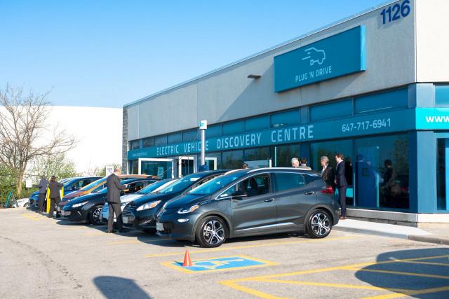 Plug'n'Drive EV Discovery Centre, Toronto