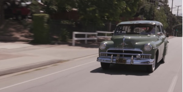 1950 Plymouth Suburban wagon on Jay Leno's Garage
