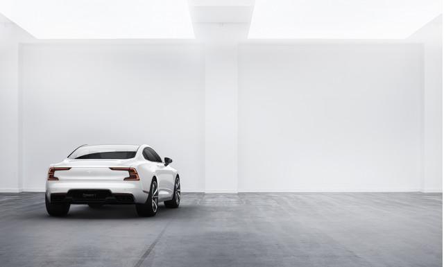Polestar 1 plug-in hybrid sport coupe