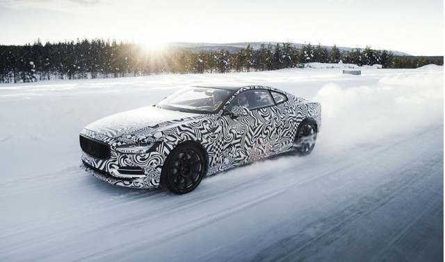 Polestar 1 undergoes cold-weather testing in northern Sweden