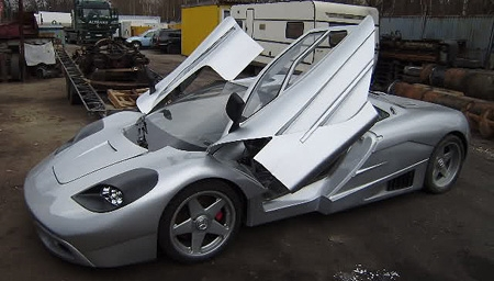 Polish McLaren F1 supercar replica